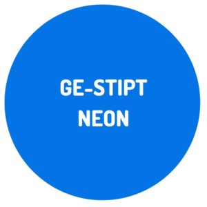 Ge-stipt NEON